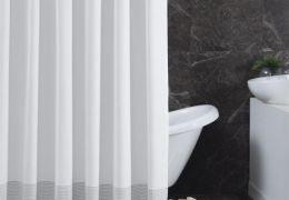 B 574Cotton Shower Curtain