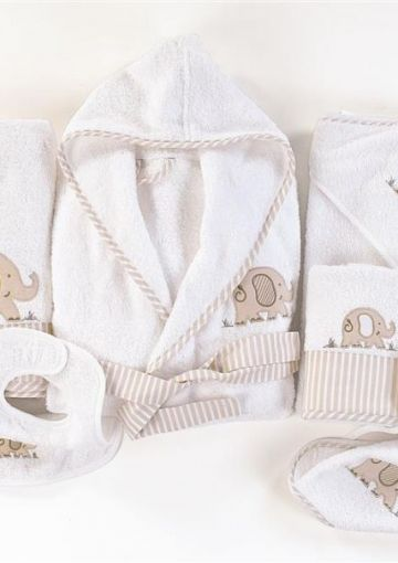 Embroidered Kids Towel Collection