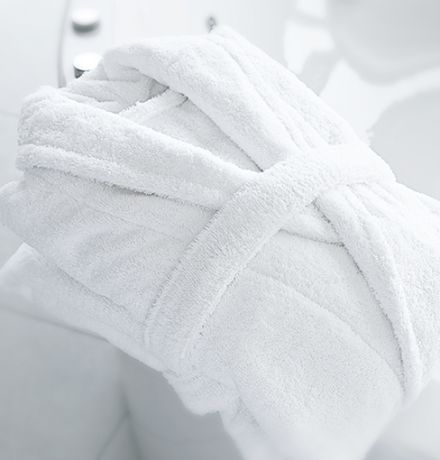 White Hotel Bathrobes
