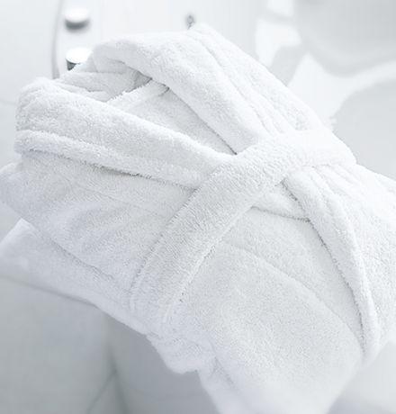 White Hotel Bathrobes