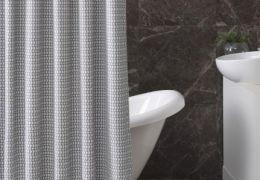 B 523Cotton Shower Curtain