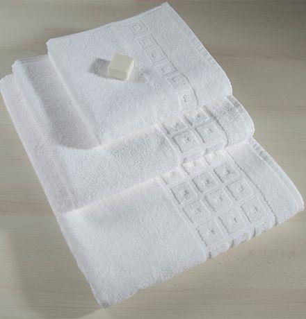 Jacquard Hotel Towels